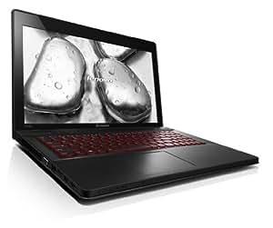 Lenovo Y510p 15.6-inch FHD Laptop - Dusk Black (Intel Core i7-4700MQ 2.4GHz, 12GB RAM, 1TB HDD, 8GB SSD, x 2 2GB Nvidia SLI GT755m 2 x 2GB, Bluetooth, Camera, No DVD, Windows 8.1 Home Premium)