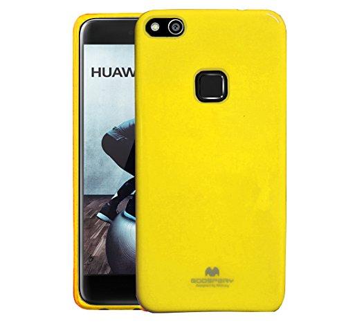 carcasa huawei p10 lite amarilla