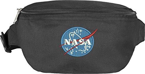 Mister Tee NASA Hip Bag Gürteltasche, Black, one Size