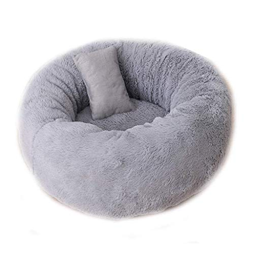 Yqzq Plush Donut Pet Bed Cat Camas for Perros Extra Suave Lavable...