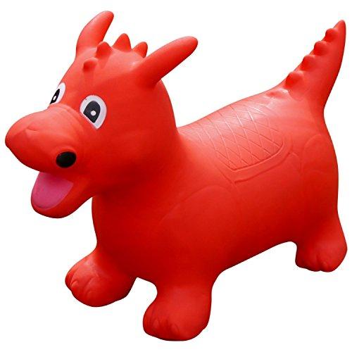 Arte Pajitas cw760365x 30x 48cm, sentarse y Ride dinosaurio juguete con libre Bomba