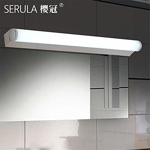 Larsure Vintage Industrial Style Wandleuchte Wandleuchte Lampe LED-Spiegel vorderen Leuchte