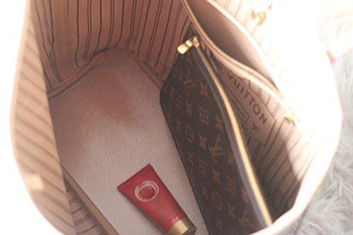 Shapeyourbag, Borsetta da polso donna Rosso rosso Trasparente (trasparente)