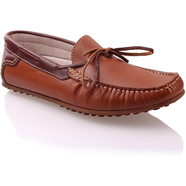 Unze Mens Giovini ' Slipons Mocassini Parent scarpe di cuoio  Parent Mocassini 1d1185