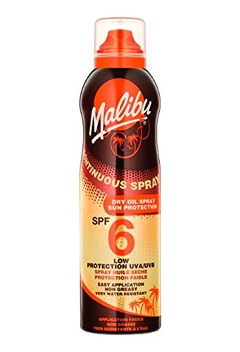 Malibu Continuous Spray Huile sèche en spray SPF 6 175 ml