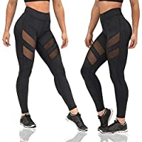 Comfy Trendy Yoga Pants, Black M
