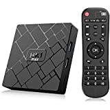 Bqeel TV Box Android 8.1 HK1 MAX / CPU RK3328 Quad-Core 64bit / 4G DDR3+64G EMMC / Dual WIFI 2.4/5G + 100M LAN, android box tv Bluetooth 4.0/USB 3.0/AV/Dolby/3D 4K Smart TV Box