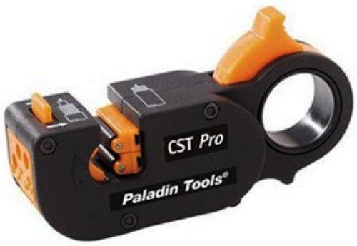 Greenlee 1281 CST Pro Coax Stripper 3 Level, Orange Cassette .327/.146 by Greenlee Textron Cst Pro Coax-stripper