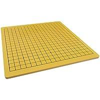 Quantum Abacus Xiangqi & Go Spielbrett - hochwertiges Spielfeld für Go (19x19 Felder) und chinesisches Schach aus schwerem Holz (3kg), nur Spielbrett, keine Spielsteine, 57cm x 54cm x 1,2cm, Mod. CL-012