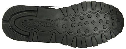 Reebok Classic Leather Pop, Sneakers basses homme Noir (Black/White)
