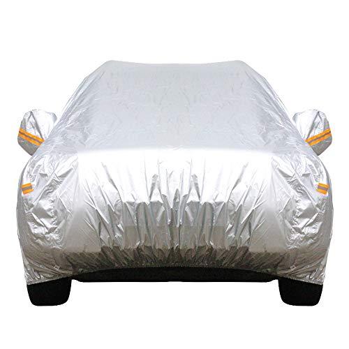 ERQINGCZ Wasserdichte Autoabdeckung Outdoor Auto Abdeckung SUV Anti Uv Sonne Regen Schnee Beständig Abdeckung Für Duster Lodgy