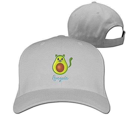 Hhaj Baseball Caps Cute Avocado Golf Dad Hat Adult Vintage Snapbacks Cap