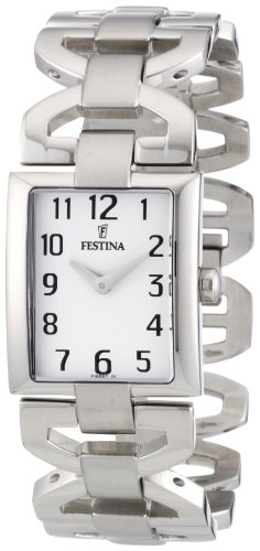 Festina Women's Quartz Watch Trend Lady F16557/1 with Metal Strap