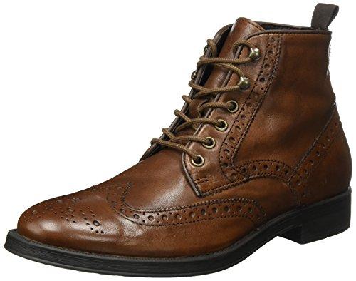 Geox Herren Uomo Blade E Klassische Stiefel, Braun (Cognac), 42 EU