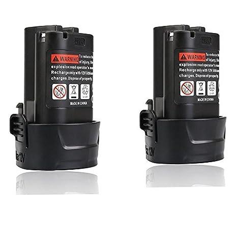 Flylinktech 2.0Ah 12v Battery for Makita 10.8v BL1013 BL1014 Power