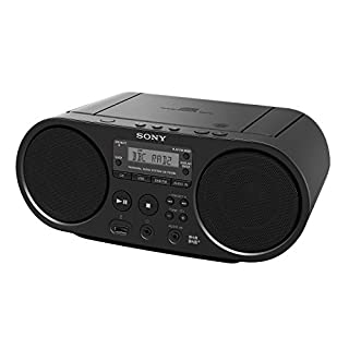 Sony ZS-PS55B CD Boombox with DAB and FM Radio – Black