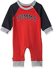 Tommy Hilfiger Baby Girls Coverall Long Sleeve Onesie