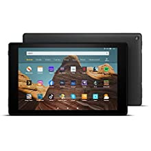 "Fire HD 10 Tablet | 10.1"" 1080p Full HD display, 64 GB, Black with Special Offers"