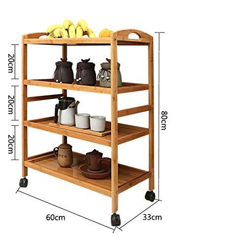 Mobilen speisewagen,Multi-Layer Warenkorb,Hot Pot lagerregal Einfache Moderne Home Servierwagen Küche esszimmer Rolling Warenkorb Trolley -B