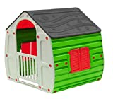 COIL Spielhaus für Kinder Gartenhaus Kinderspielhaus Kunstoff (C10561A)