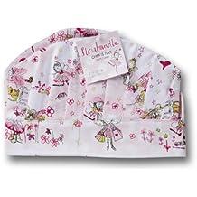 Caroline Gardner - Gorro de cocinero de algodón, ajustable, modelo Florabundle, color rosa