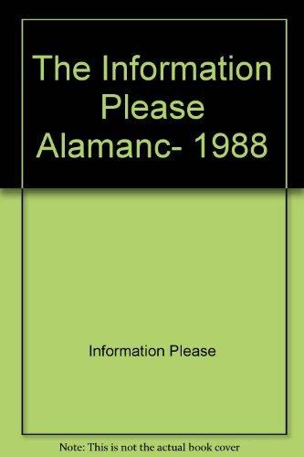 Title: The Information Please Almanac 1988