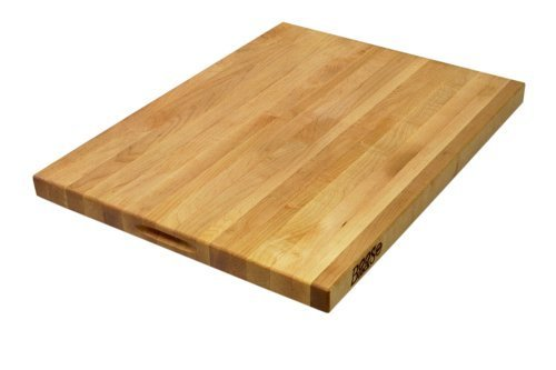 John Boos 24 by 18 by 1-1/2-Inch Reversible Maple Cutting Board by John Boos John Boos Maple Cutting Board