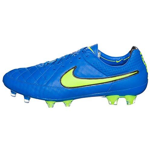 Nike Tiempo Legend V Fg 631518 Herren Fußballschuhe Training Blau