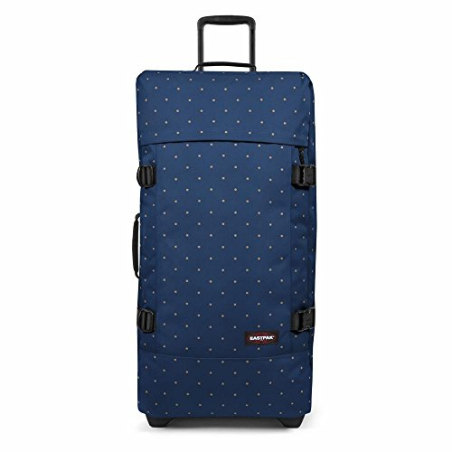 Eastpak Tranverz L Valise - 79 cm - 121 L - Dot Blue (Multicolore)