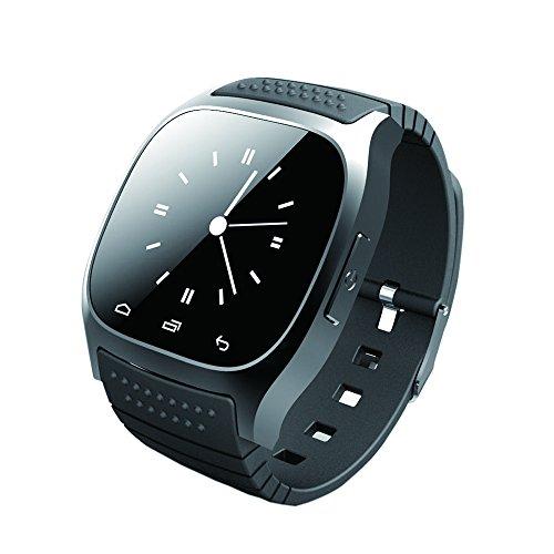 GIMTVTION M26Bluetooth Smart Watch, Sbloccato Cellulare Orologio con Passometer Monitor SMS Orologio da Polso, Impermeabile Smartwatch per iOS Android Samsung iPhone 7Plus 6S Adulti Bambini