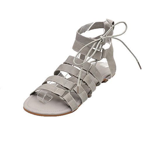 a5b0ce696d8d14 Sandales Dames Women Bohemia Sandals Gladiator Flat Peep-Toe Sandals Shoes  Roman
