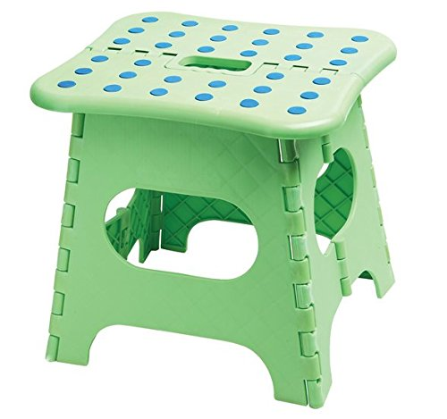 F-Eshion bequem klappbarer Hocker für Kinder - Erwachsenen Angeln Hocker * 1 zufällige Farbe (Klappbarer Holz-box)