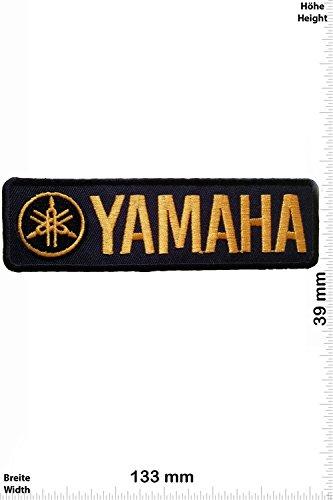 Parches - Yamaha - black/gold - Deportes de motor - Deportes -...