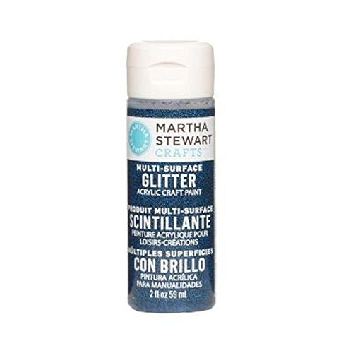 Best Price Martha Stewart Crafts 2 oz Night Sky Glitter Paint, Blue Special