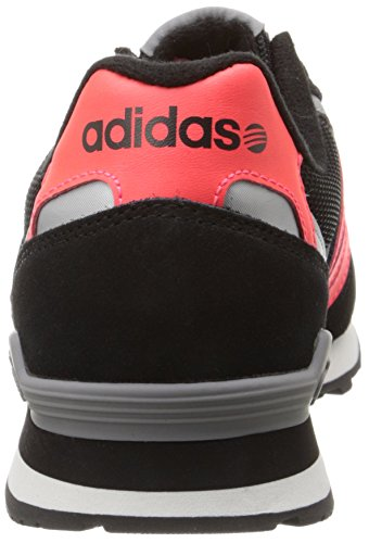 Adidas Neo 10k Lifestyle Runner Sneaker, Noir / Rouge solaire / gris, 6,5 M Us Black/Solar Red/Grey