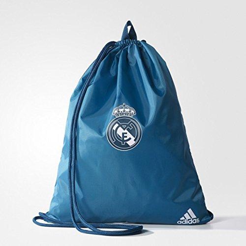 2017-2018 Real Madrid Adidas Gym Bag (Solid Grey) -