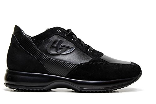 Blu Byblos 667254 Sneakers Uomo Ecopelle NERO NERO 42