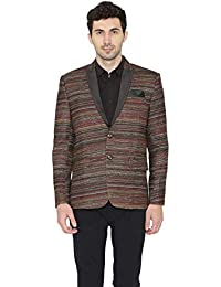 Wintage Men's Poly Cotton Printed Tuxedo Party Blazer : 2 Colors