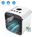Renile Personal Space Air Conditioner Fan Air Cooler Air Purifier Air Humidifier With Blue light Sterilization Small Evaporative The Quick Easy Way to Cool Any Space Cooler For Bedroom Home Office