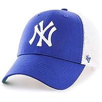 47 MLB New York Yankees Branson MVP Cap – Cotton Mesh Trucker Unisex Baseball Cap Premium Quality Design and Craftsmanship by Generational Family Sportswear Brand