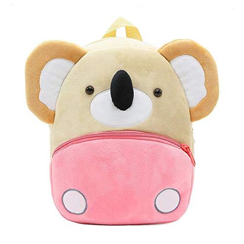 Rucksack Kleinkinder Plüsch Tiere Kinderrucksäcke Für Baby Mädchen Junge 1-3 Jahre 23.8 X 11.9 X 26.9CM (Koala)