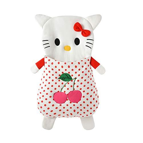 Bella Baby Cartoon Schlafsack, Baumwolle/Hello Kitty Muster Vier Jahreszeiten Universal 85Cm / 105Cm,Red,105CM (Kitty Hello Schlafsack)
