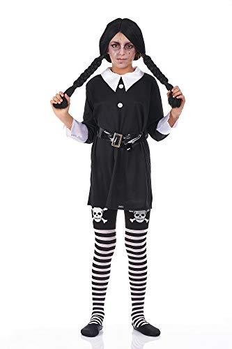 Disfraz de Miercoles infantil - de 8 a 10 años