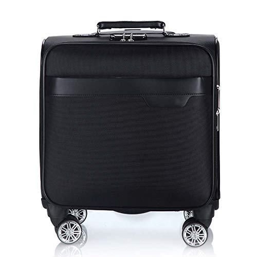 XDD 18 Zoll Rolling Laptop-Tasche für Frauen und Männer Businesscomputer Koffer Rolling Laptop-Tasche Kofferraum für Business Travel Academy,A -