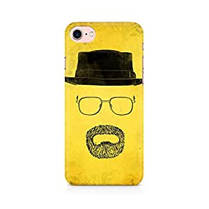 PRINTASTIC 216_PTV2 Minimalist Heisenberg APPLE Iphone-7 Back Case/Cover -Amazing colors & long lasting prints, High-resolution, Matte Finished and soft to touch, 3D Printed, Polycarbonate Material, Scratch resistant, Water resistant, Dust resistant, Fadeproof Mobile Hard Back Case/Covers