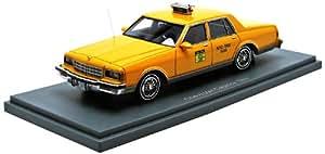 Neo - 43534 - Véhicule Miniature - Modèle À L'échelle - Chevrolet Caprice - Taxi De New York 1985 - Echelle 1/43