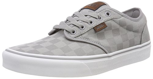 Vans Herren Atwood Checkerboard Sneaker Grau ((Check Jacquard) Alloy/White Rd3) 45 EU