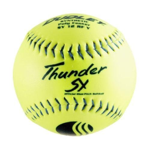 ssa 12 Slow Pitch Softball (One Dozen) by Dudley ()