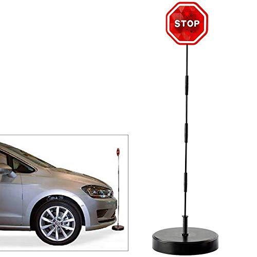 IS LED Stoppschild Einparkhilfe mit Erschütterungssensor. Parksensor Parkassistent ...