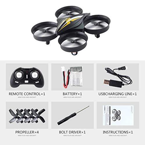 Heaviesk Quadcopter Drone Aircraft UAV Toy Mini 4CH RC con One Key Return Modo sin cabeza 3D Flip para niños Regalo Presente RTF